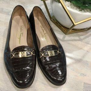 Gorgeous Vintage Ferragamos Loafers - Size 8.5